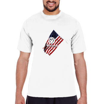 Mens Victory Wavy Flag T-shirt Thumbnail